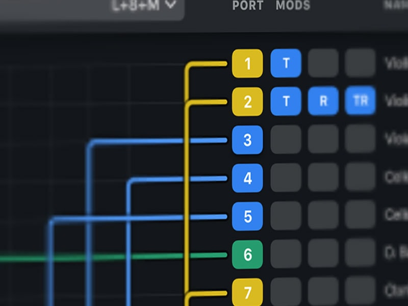 It creates 32 distinct virtual midi ports …