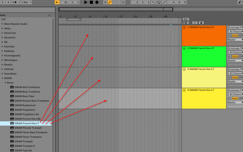 add instrument